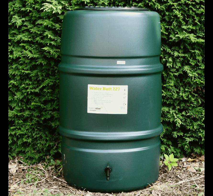 Regentonset Harcostar 227 liter - Groen + Voet + Vulautomaat