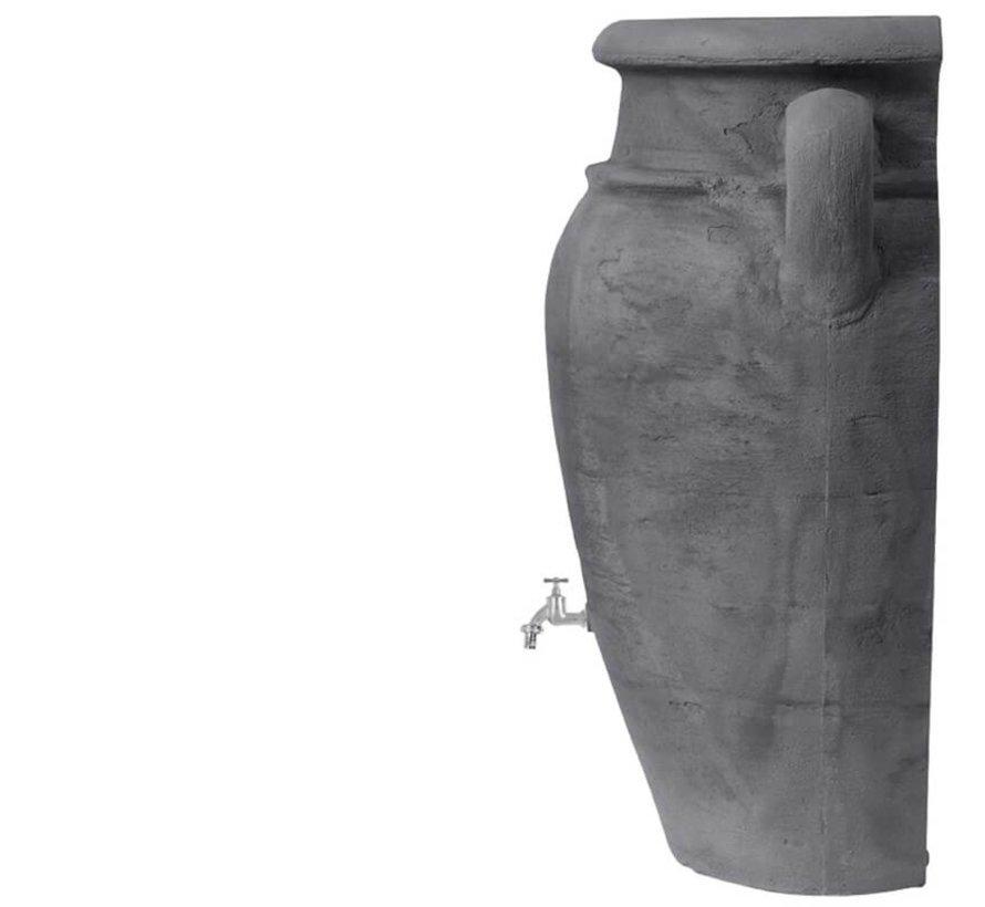 Regenton Wand Amphore Antraciet 260 liter