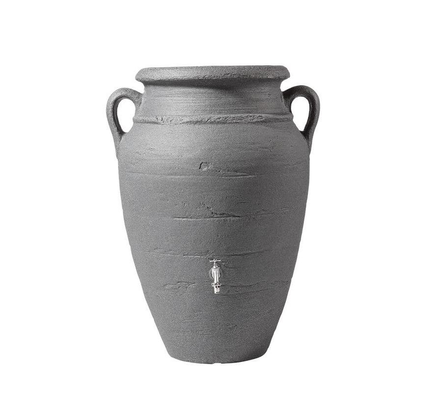 Regenton Antique Amphore Antraciet 250 liter