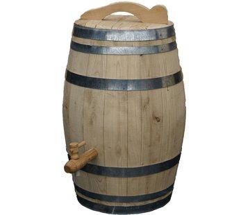 Meuwissen Agro Houten Regenton - 150 Liter Kastanje + Kraan + Handvat