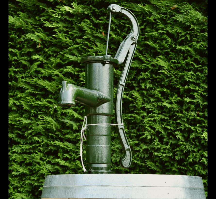 Houten Regenton - 225 Liter met Pomp - Onbehandeld