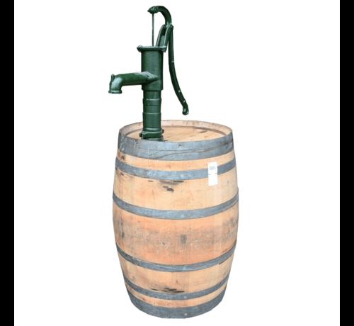Meuwissen Agro Houten Regenton - 225 Liter met Pomp - Onbehandeld