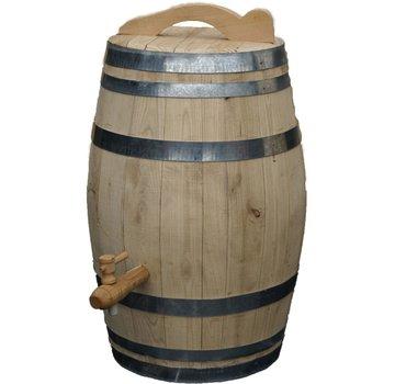 Meuwissen Agro Houten Regenton - 100 Liter Kastanje + Kraan / Handvat