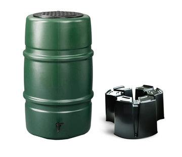 Harcostar Regentonset Harcostar - 227 Liter Groen + Voet