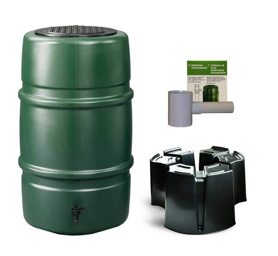 Regentonset Harcostar 227 liter + Voet + Vulautomaat