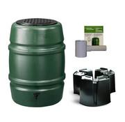 Harcostar Regentonset Harcostar - 114 Liter Groen + Voet + Vulautomaat