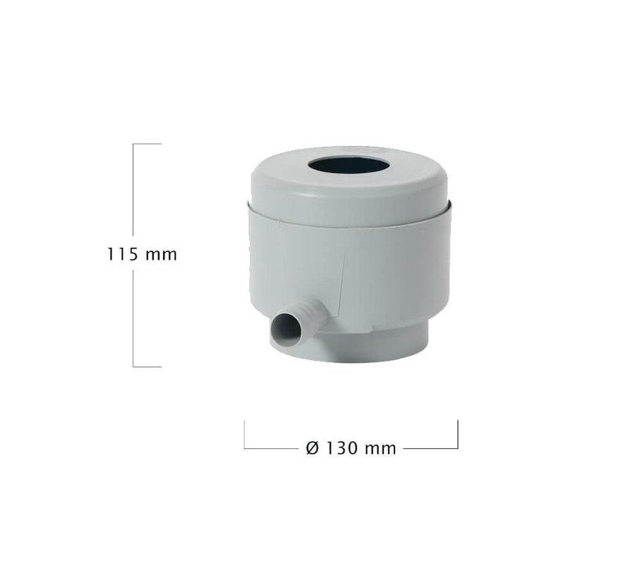 Regenton Slim Antraciet 300 liter + Vulautomaat