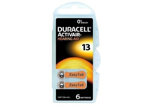 Duracell Duracell 13 Activair EasyTab - 10 Päckchen