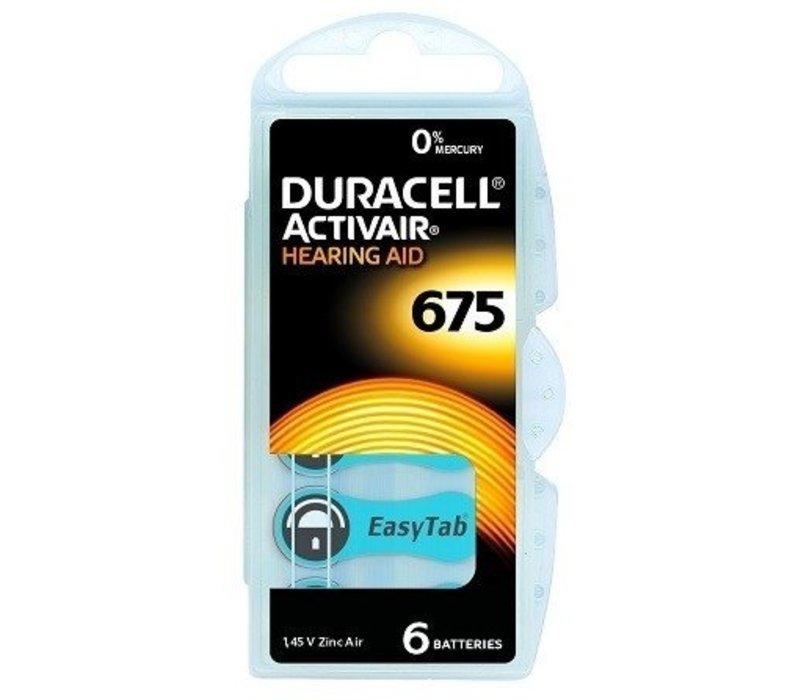 Duracell 675 Activair EasyTab - 10 Päckchen