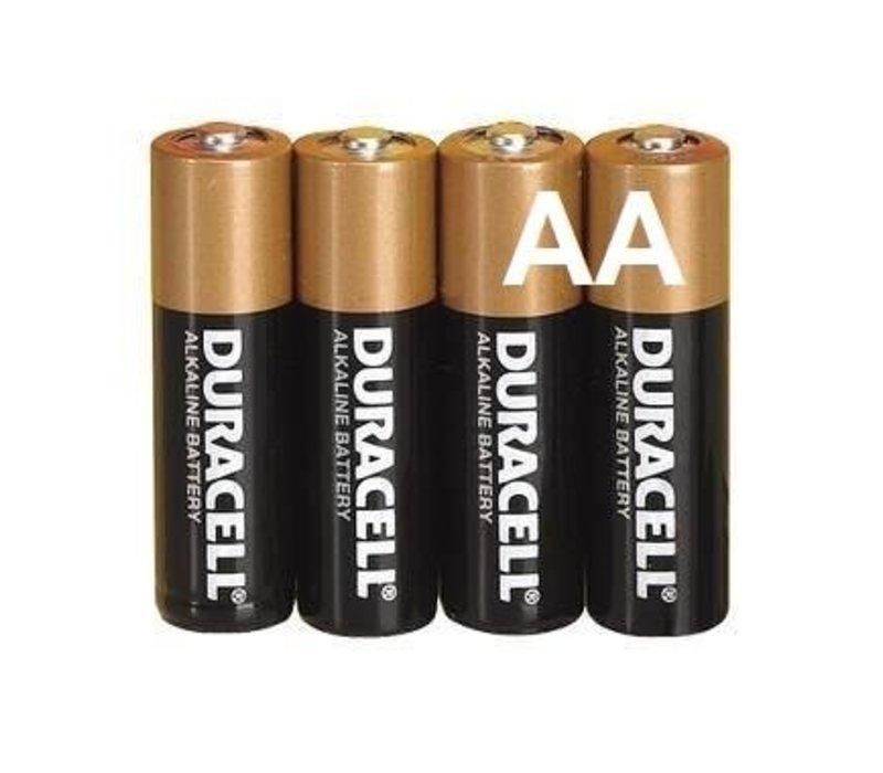 Duracell Alkaline AA Mignon LR6 - 1 Packung (4 Batterien)
