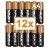 Duracell Duracell Alkaline AA Mignon LR6 - 1 Packung (12 Batterien)