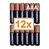 Duracell Duracell Alkaline AAA Micro (LR3) - 1 Packung (12 Batterien)