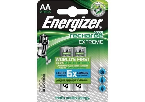 Energizer Energizer Recharge Extreme AA 2300mAh (HR6) - 1 Packung (2 Batterien)