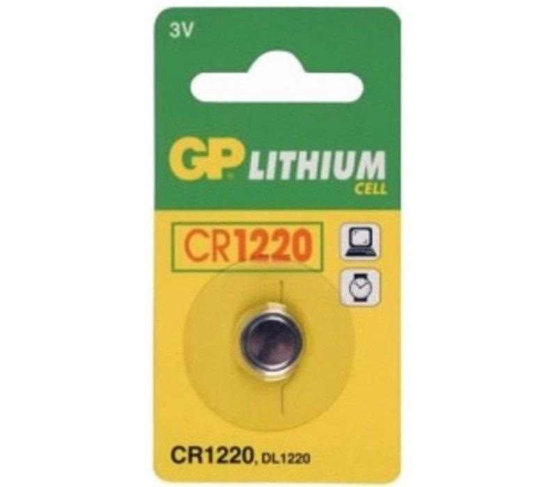 GP Lithium CR1220 3V Blister 1