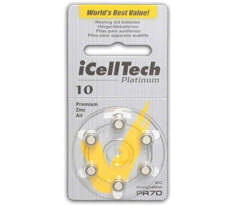 iCellTech 10DS Platinum - 10 Päckchen