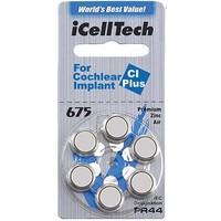 iCellTech 675 CI Plus für Cochlear Implant - 1 Päckchen