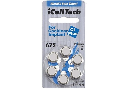 iCellTech iCellTech 675 CI Plus für Cochlear Implant - 100 Päckchen