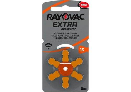 Rayovac Rayovac 13 Extra Advanced (Packung/6)  - 10 Päckchen