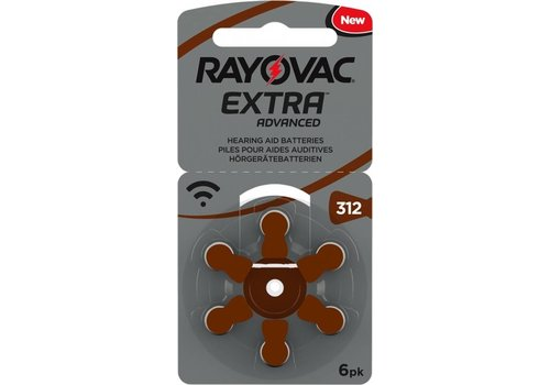 Rayovac Rayovac 312 Extra Advanced (Packung/6) - 1 Päckchen