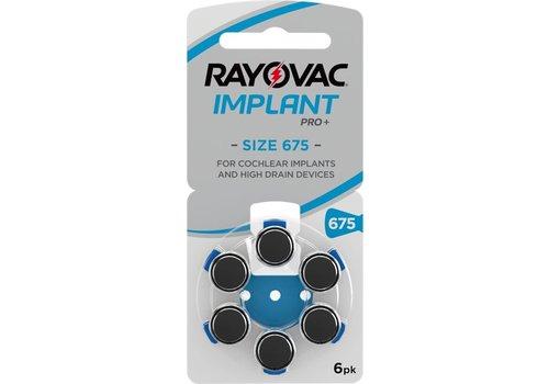 Rayovac Rayovac 675 Cochlear Implant Pro Plus - 100 Päckchen