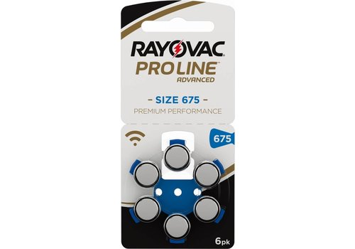 Rayovac Rayovac 675 ProLine Advanced Premium  Performance - 10 Päckchen