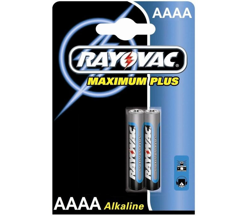 Rayovac Maximum Plus Alkaline AAAA Mini LR8D425 - 1 Packung