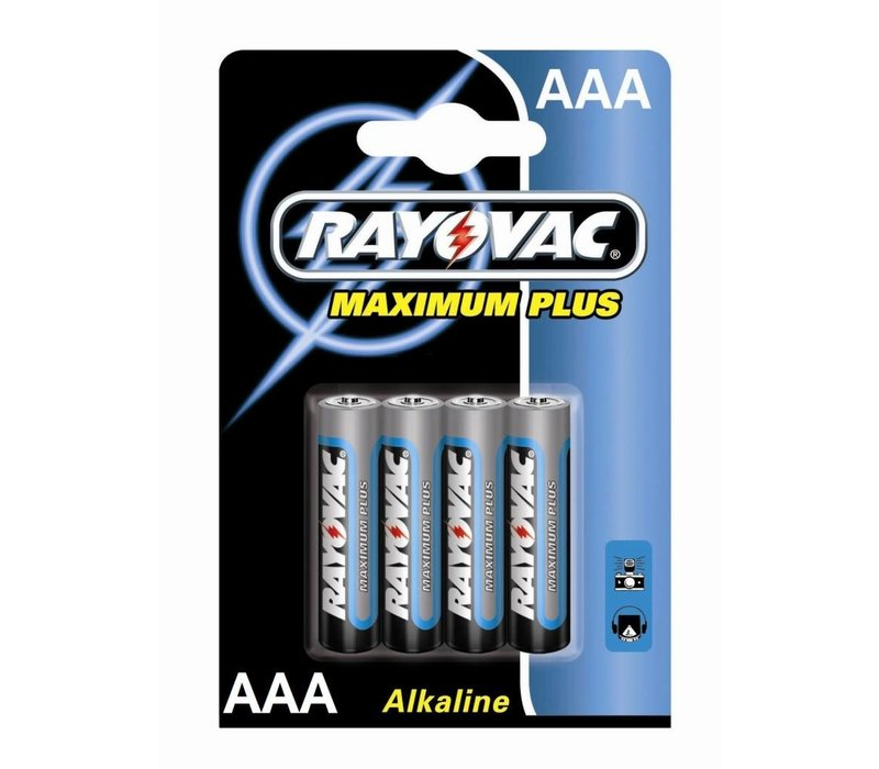 Rayovac Maximum Plus Alkaline AAA Micro LR3 - 1 Packung