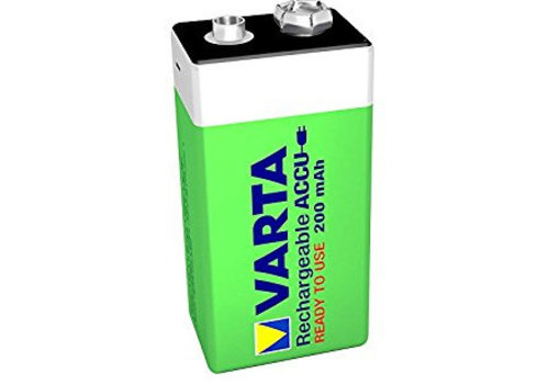 Varta Varta 9V 200mAh rechargeable accu - 1 Packung (1 Batterie)