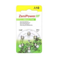 ZeniPower A10 Gelb (PR70) - 1 Päckchen (6 Batterien)