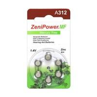ZeniPower A312 Braun (PR41) - 20 Päckchen (120 Batterien)