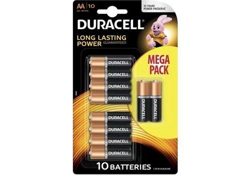 Duracell Duracell Alkaline AA Mignon LR6 - 1 Packung (10 Batterien)
