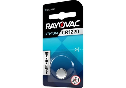 Rayovac Rayovac Lithium CR1616 3V Knopfzelle Blister 1 - 1 Packung