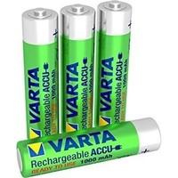 Varta AA 2600mAh rechargeable (HR6) - 1 Packung (4 Batterien)