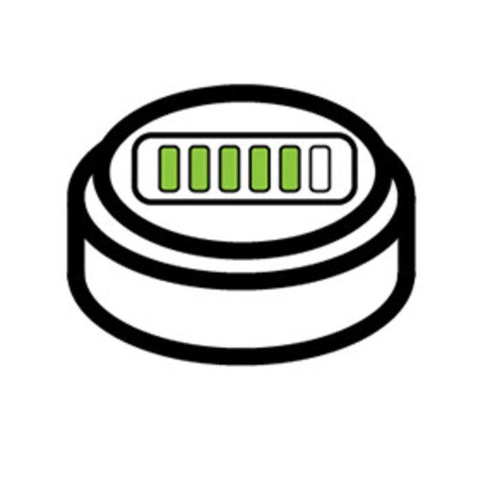 Högerätebatterien Wiederaufladbar