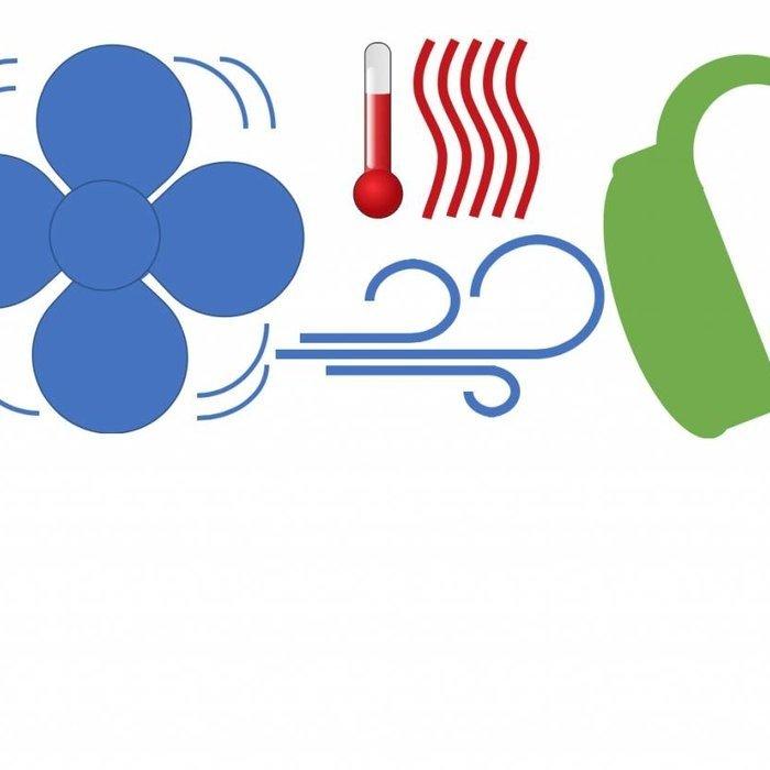 Trocknen des Hörgeräts