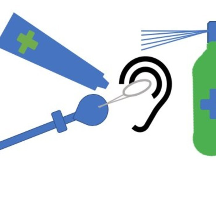 Ohrenpflege (Salbe, Creme usw.)