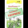 ZeniPower ZeniPower A10 Gelb (PR70) - 10 Päckchen (60 Batterien)