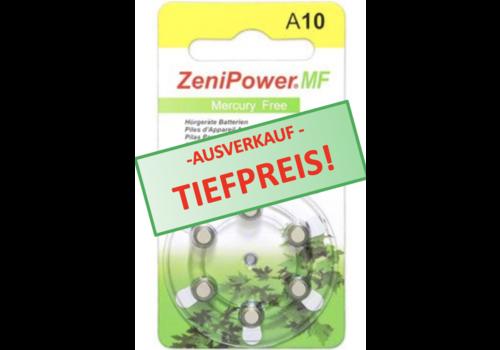 ZeniPower ZeniPower A10 Gelb (PR70) - 10 Päckchen
