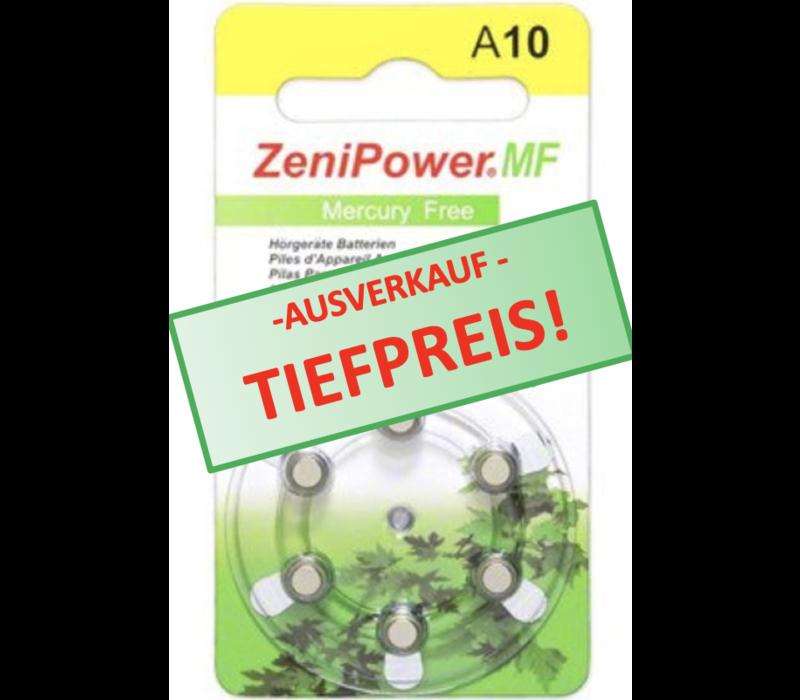 ZeniPower A10 Gelb (PR70) - 20 Päckchen (120 Batterien)