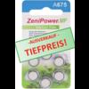 ZeniPower ZeniPower A675 Blau (PR44) - 1 Päckchen (6 Batterien)