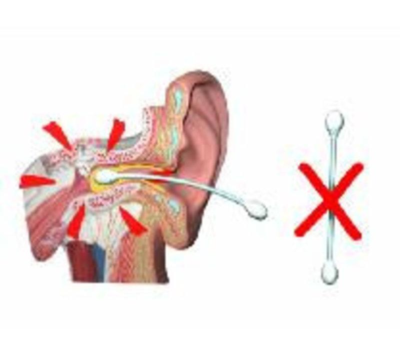 EarScratcher Ohrenschmalzentferner Ohrenschmalzstift - Set aus Blau und Rot
