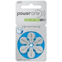 PowerOne p675 - 30 Päckchen mit kostenlosem Batteriebox Schlüsselbund