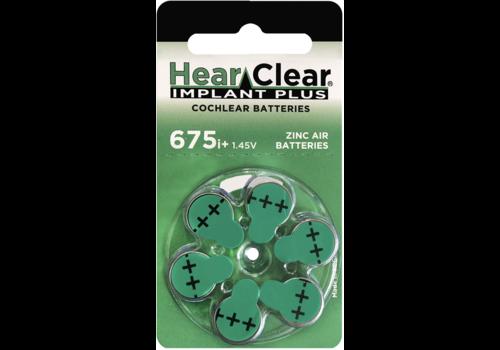 HearClear HearClear 675i+ Implant Plus - 10 Päckchen