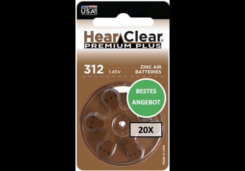 HearClear HearClear 312 Premium Plus - 20 Päckchen