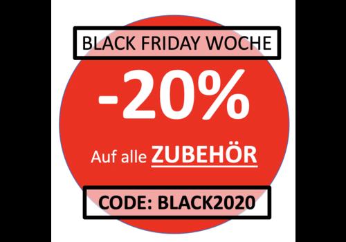 BLACK FRIDAY WOCHE: Zubehör -20% mit dem Code 'BLACK2020'