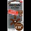 Rayovac Rayovac 312 (PR41) Extra Advanced  - 20 Päckchen (120 Batterien)