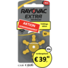 Rayovac Rayovac 10 (PR70) Extra Advanced - 20 Blisterpackung (120 Batterien)