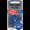 Rayovac Rayovac 675 Extra Advanced - 20 Päckchen (120 Batterien)