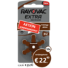 Rayovac Rayovac 312 (PR41) Extra Advanced  - 10 Päckchen (60 Batterien)