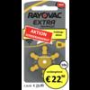 Rayovac Rayovac 10 (PR70) Extra Advanced - 10 Blisterpackung (60 Batterien)